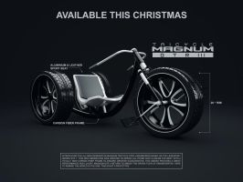 Tricycle MAGNUM GTR 3 by giacko