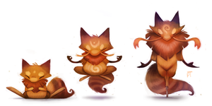 DAY 470. Kanto 063 - 064 - 065 by Cryptid-Creations