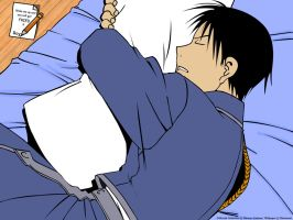 Roy Sleeping by roy-mustang