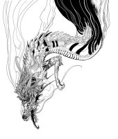 Falling dragon by animabase