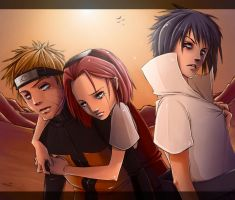 .Team 7's Sadness. RedoneDid. by BlissfulGold
