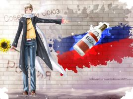 :APH: Lonely Russian by Inupii