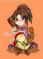 Ling Tong y Cat Ning by CarmenMCS