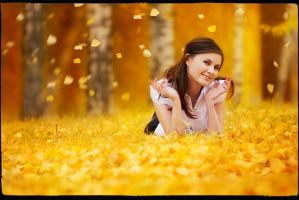 autumn leaves by eaniton