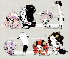 [CLOSED] ADOPT AUCTION 42 - Shadowmonster by Piffi-adoptables