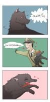 Richtofen love puppies by spidercandy