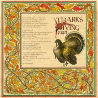 Book of Shadows Harvast Home-Thanksgiving Prayer by Brightstone