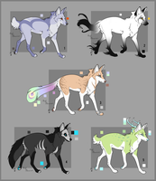 Fantasy Fox Adopts | Auction Closed by BlackNemera