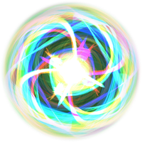 Free use: Rainbow / convergence sphere by CharmedWings