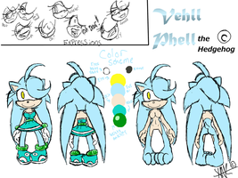 Vehll Phell The Hedgehog. (REF)(2013) by X-A-K