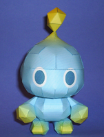 Chao Papercraft by sgonzales22