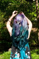 Blue Purple Curls by lizzys-photos