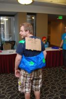 DashCon 2014 - He cosplay'ed as the Convention by Ramsey06