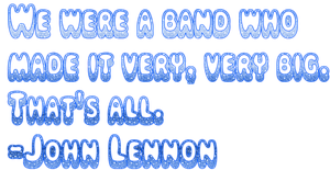 John Lennon Quote Png by MaddieLovesSelly
