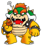 Bowser and Super Leaf by The-PaperNES-Guy