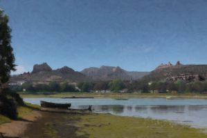 Lake Sedona by Topaz172