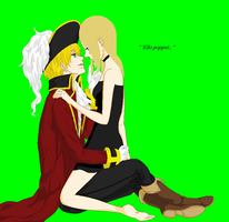 Juliet and England =ello poppet= by lil-shooting-star