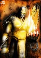Mortal Kombat - Scorpion by funkamore