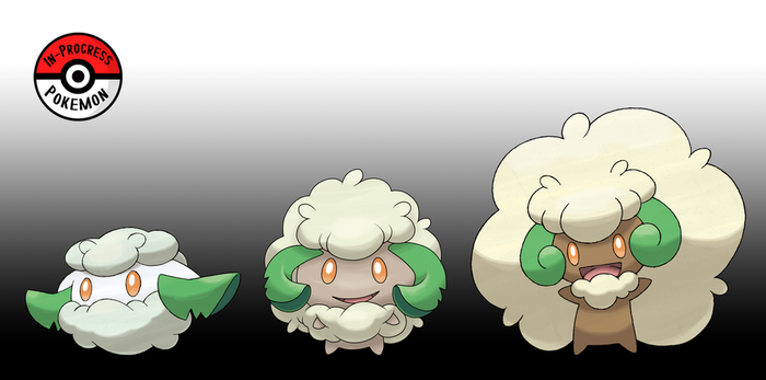 546 - 547  Cottonee Line by InProgressPokemon