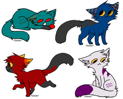 Catstuck Adopts Auction CLOSED by thatonenerdybroad