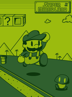 Super Mario Land by JOSHDILISI