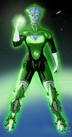 Commission: A Green Lantern by StefanoMarinetti