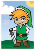 Old School - Link Trading Card by TheOGCarrieP