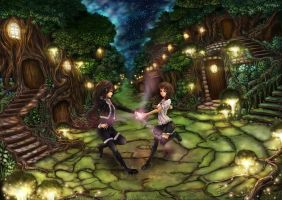 Dance in the Fairy Realm by RyouRyouiki