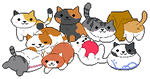 Neko Atsume by pawbit