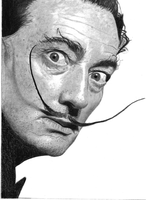 Salvador Dali by gypsytoast