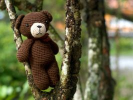 amigurumi - Brown Bear by zarawut