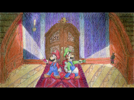 Mario Bros. Mansion by tymime