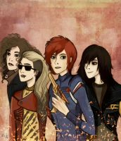 Killjoys, make some noise! [fem!killjoys] by nastjastark