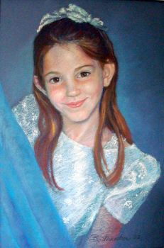 Commission Portrait in pastel by Stilll-Life-Gallery
