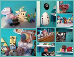 Collection de Papercraft by Blender-Madness