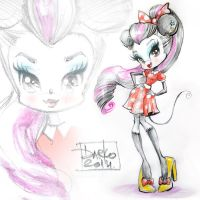 Minnie Mouse by darkodordevic