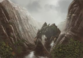 The Mountain Giant +timelapse by kingaby