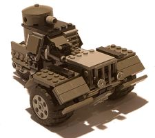 Heavy Diesel Combat Car Mk. IV by RRaillery