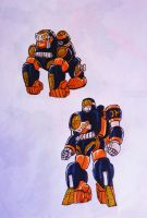 PR DOUBLE DYNASTY step1: kung-fu monkeyzord by kishiaku