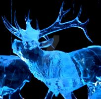 Ice Elk by veritasBtold