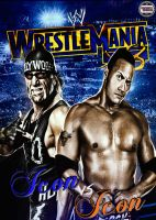 Wrestlemania X8 Poster by AY by AyBenoit12