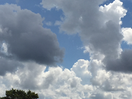 Clouds IMG 1319 by TheStockWarehouse