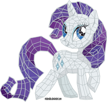 Stained Glass: Rarity by MisterAibo