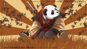 PSP wallpapers Panda by Netidentite