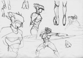 Battle Angel sketch page 03 by OliverHarud