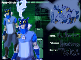 POKE-GLITCH: HAL HEARTLESS by kamenkuro