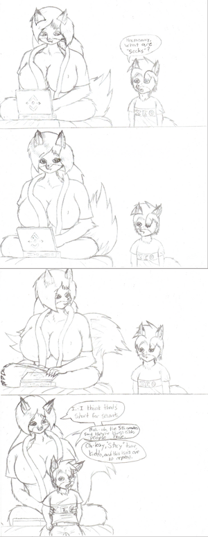 This is my own Character Drawings - Page 6 Plural_by_Frist44