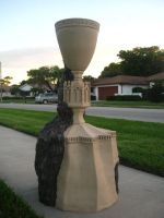 The Goblet of Fire for Crown and Shield Hall by Thom-Heap