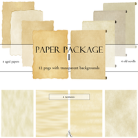 Old Paper pack by Ayelie-stock