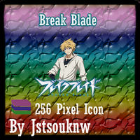 Break Blade v3 - Anime Icon by jstsouknw